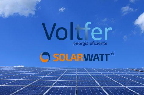 Nota de prensa: Acuerdo Voltfer & SolarWatt
