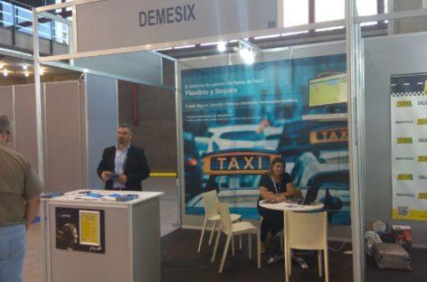 Demesix y riescontrol presentan productos punteros para el sector del taxi en la feria de referencia para el sector en españa