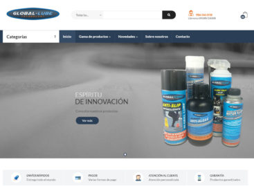 La gama de lubricantes de última generación 'global-lube', disponible 'on line'