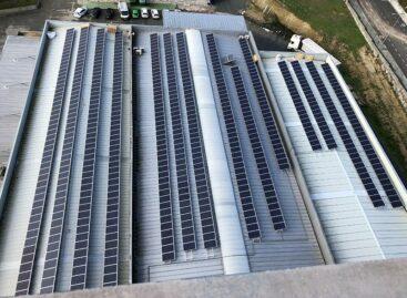 Voltfer instala en Aira, un parque fotovoltaico que reducirá la factura energética de su planta de piensos en Taboada