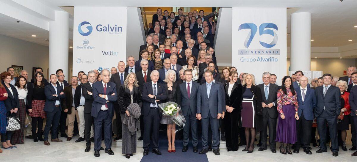 El grupo alvariño celebra 75 años apostando por los sectores de la nueva economía como ejes para su crecimiento futuro